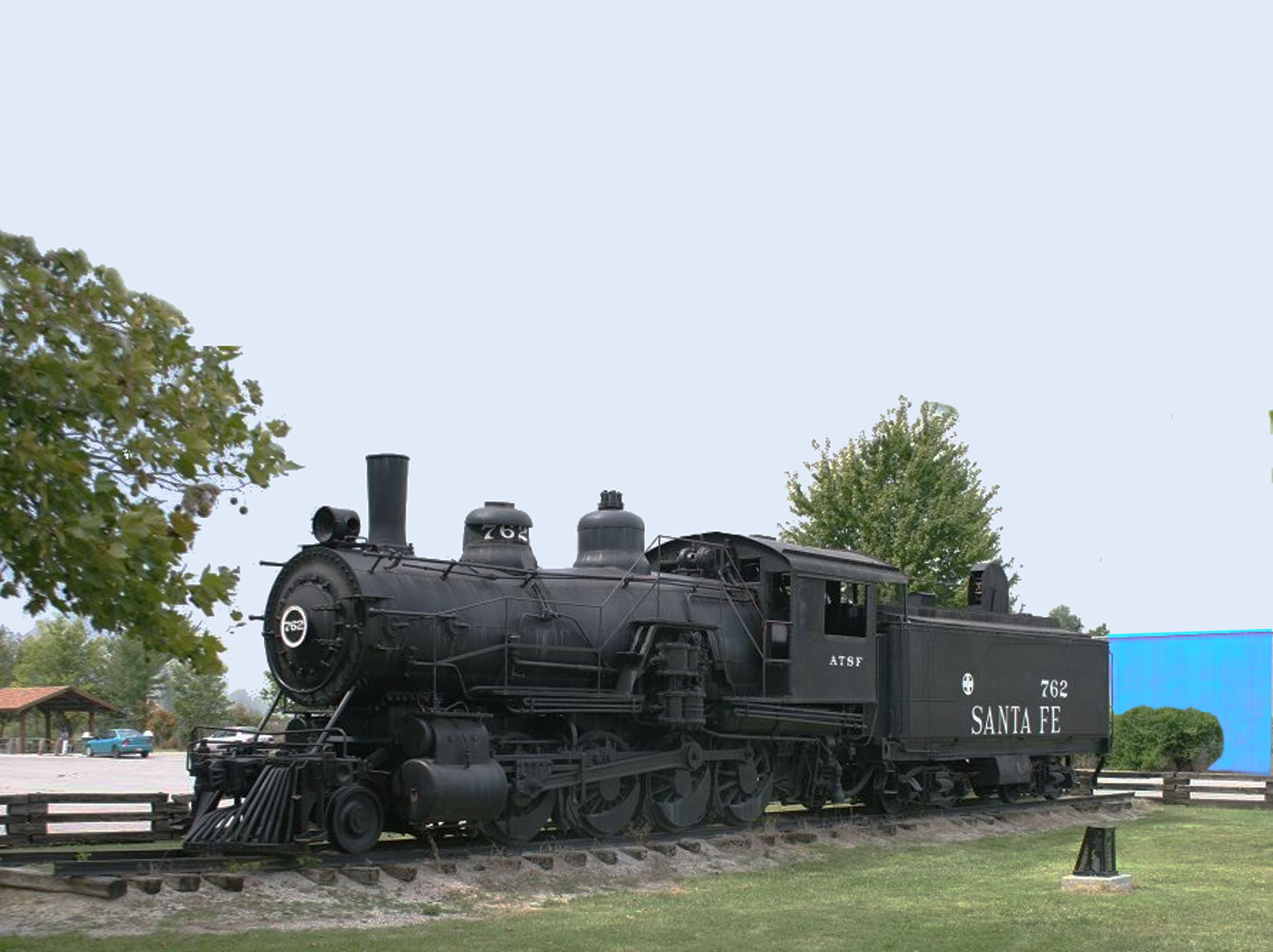 Santa Fe Train Engine